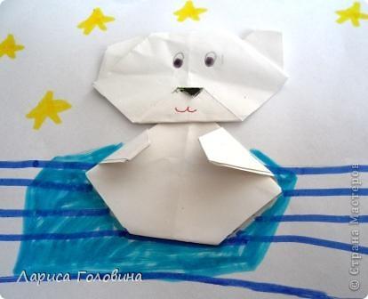 Мишки оригами. фото 4