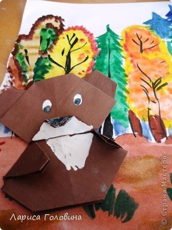 Мишки оригами. фото 6