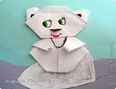 Мишки оригами. фото 7