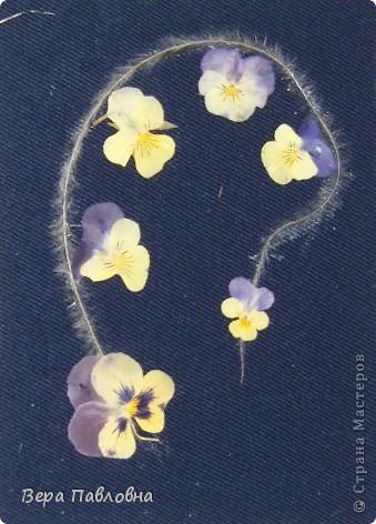 Открытка флористическая фото 4