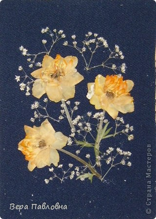 Открытка флористическая фото 1