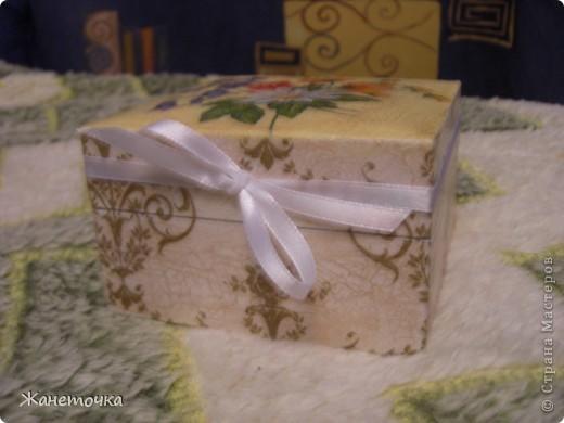 Вот такая коробочка в подарок))) фото 2
