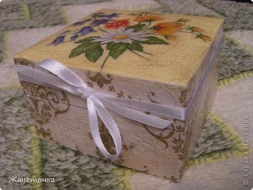 Вот такая коробочка в подарок))) фото 1
