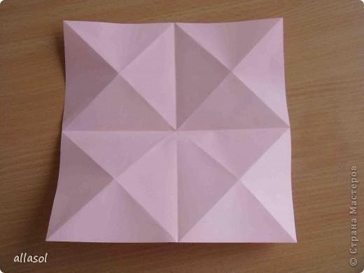 """По подсказке Люблюбумагу нашла в нашей библиотеке книгу Афонькиных """"Цветущий сад оригами"""" Идея из этой книги. фото 6"""