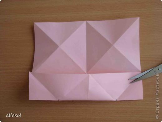 """По подсказке Люблюбумагу нашла в нашей библиотеке книгу Афонькиных """"Цветущий сад оригами"""" Идея из этой книги. фото 7"""