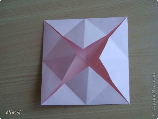 """По подсказке Люблюбумагу нашла в нашей библиотеке книгу Афонькиных """"Цветущий сад оригами"""" Идея из этой книги. фото 9"""