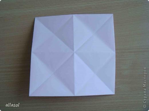 """По подсказке Люблюбумагу нашла в нашей библиотеке книгу Афонькиных """"Цветущий сад оригами"""" Идея из этой книги. фото 10"""