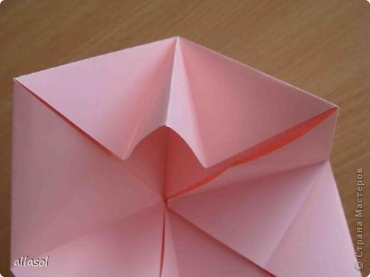 """По подсказке Люблюбумагу нашла в нашей библиотеке книгу Афонькиных """"Цветущий сад оригами"""" Идея из этой книги. фото 12"""