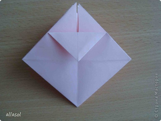 """По подсказке Люблюбумагу нашла в нашей библиотеке книгу Афонькиных """"Цветущий сад оригами"""" Идея из этой книги. фото 14"""