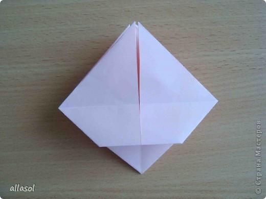 """По подсказке Люблюбумагу нашла в нашей библиотеке книгу Афонькиных """"Цветущий сад оригами"""" Идея из этой книги. фото 15"""
