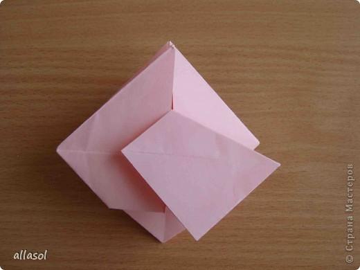 """По подсказке Люблюбумагу нашла в нашей библиотеке книгу Афонькиных """"Цветущий сад оригами"""" Идея из этой книги. фото 18"""