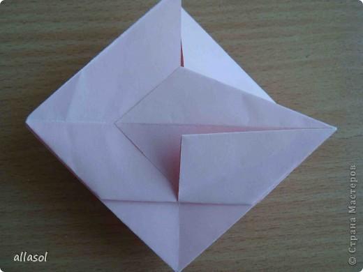 """По подсказке Люблюбумагу нашла в нашей библиотеке книгу Афонькиных """"Цветущий сад оригами"""" Идея из этой книги. фото 19"""