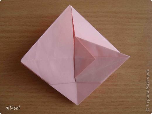 """По подсказке Люблюбумагу нашла в нашей библиотеке книгу Афонькиных """"Цветущий сад оригами"""" Идея из этой книги. фото 20"""