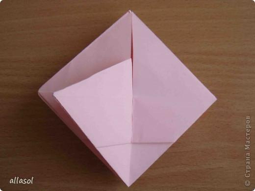 """По подсказке Люблюбумагу нашла в нашей библиотеке книгу Афонькиных """"Цветущий сад оригами"""" Идея из этой книги. фото 21"""