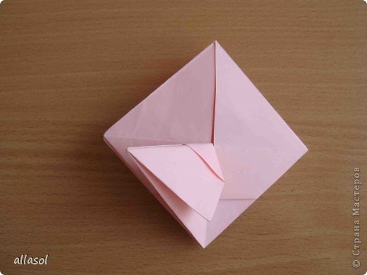 """По подсказке Люблюбумагу нашла в нашей библиотеке книгу Афонькиных """"Цветущий сад оригами"""" Идея из этой книги. фото 23"""