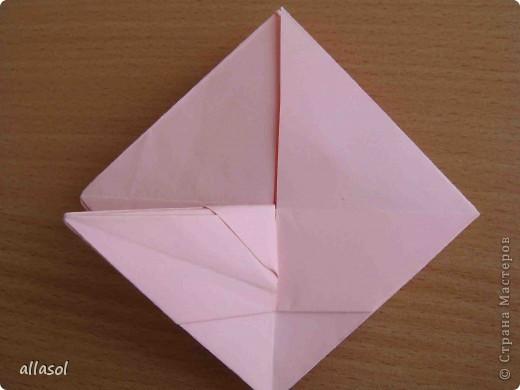 """По подсказке Люблюбумагу нашла в нашей библиотеке книгу Афонькиных """"Цветущий сад оригами"""" Идея из этой книги. фото 24"""