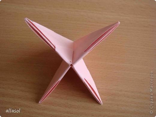 """По подсказке Люблюбумагу нашла в нашей библиотеке книгу Афонькиных """"Цветущий сад оригами"""" Идея из этой книги. фото 25"""