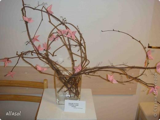 """По подсказке Люблюбумагу нашла в нашей библиотеке книгу Афонькиных """"Цветущий сад оригами"""" Идея из этой книги. фото 1"""