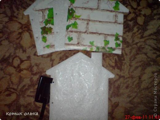 Вот такой подарок я решила сделать для сестры на день рождения. Альбом в виде домика, каждая страничка украшена по своему. Спасибо всем рукодельницам! Идеи черпала с нашего любимиго сайта. фото 8