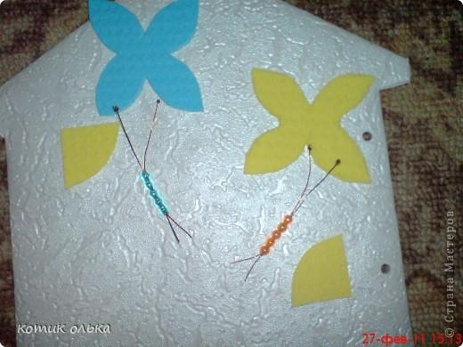 Вот такой подарок я решила сделать для сестры на день рождения. Альбом в виде домика, каждая страничка украшена по своему. Спасибо всем рукодельницам! Идеи черпала с нашего любимиго сайта. фото 12