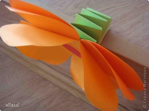 Такие цветочки делала для летнего лагеря. фото 6