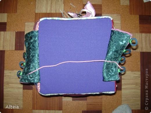 Мягкий развивающий куб. Сшился за один день, хотя материалы я подбирала недели две. фото 14
