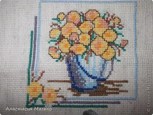 Горшочек с цветами фото 1