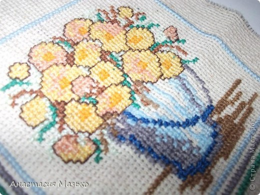 Горшочек с цветами фото 2