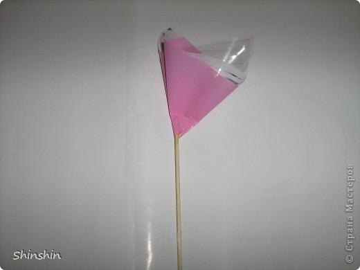 Мастер-класс: букет из конфет маме к 8 Марта! фото 9