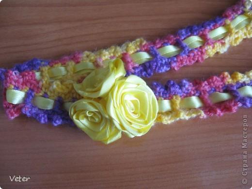 цветок из креп сатина фото 4
