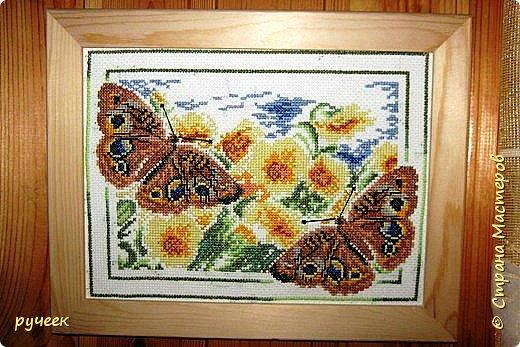 """""""цветет сакура"""" все эти работы я выполнила примерно лет пять назад по схемам из журнала ВК  фото 4"""