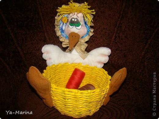 Вот такая заботливая  мамаша-утка, стерегущая свои сокровища. фото 1