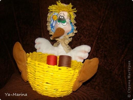 Вот такая заботливая  мамаша-утка, стерегущая свои сокровища. фото 2
