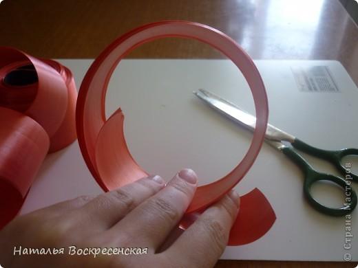 Великое множество бантов рукодельницы страны мастеров предлагают! хочу предложить еще один вариант - очень простой - для изготовления бантов на подарки! фото 4