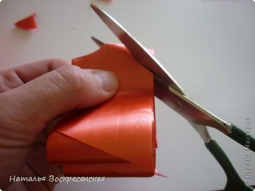 Великое множество бантов рукодельницы страны мастеров предлагают! хочу предложить еще один вариант - очень простой - для изготовления бантов на подарки! фото 7