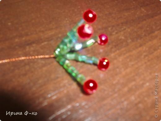 Мастер-класс Бисероплетение денежное дерево Бисер фото 4.