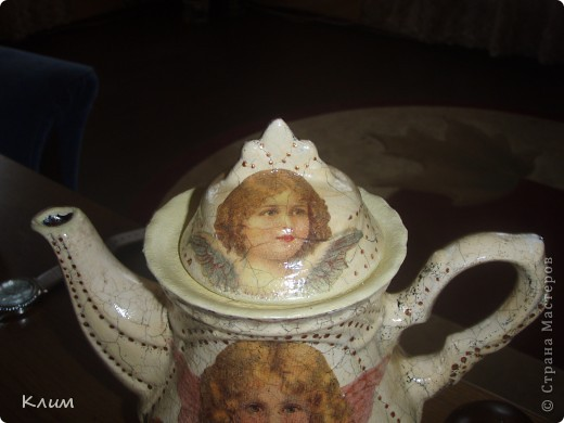 "Завароочный чайник ""Ангелочки"" фото 2"