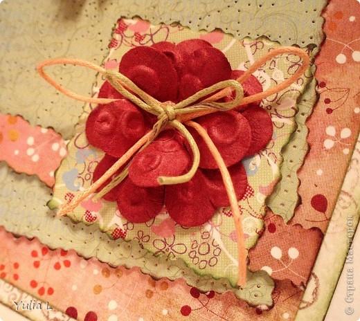 Новая открытка по скетчу Лены http://stranamasterov.ru/node/159827.  Завтра профессиональный праздник у близкого мне человека, вот и родилась такая весенняя открытка с порхающими по зеленому полю бабочками. фото 5