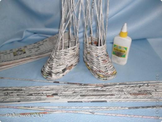 По просьбам мастериц попробую объяснить, как я плету сапожки фото 1