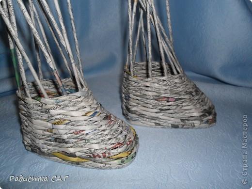По просьбам мастериц попробую объяснить, как я плету сапожки фото 8