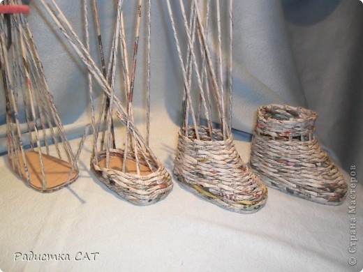 По просьбам мастериц попробую объяснить, как я плету сапожки фото 13