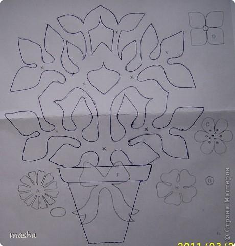 Простые цветочки для детского творчества  фото 4
