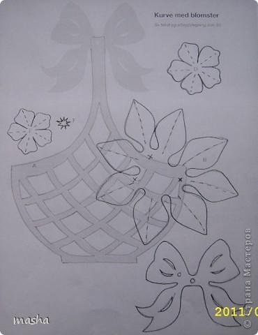Простые цветочки для детского творчества  фото 5