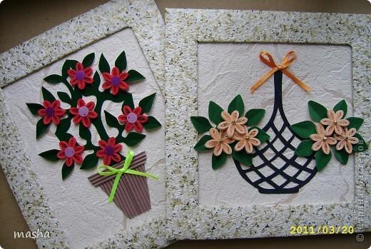 Простые цветочки для детского творчества  фото 1