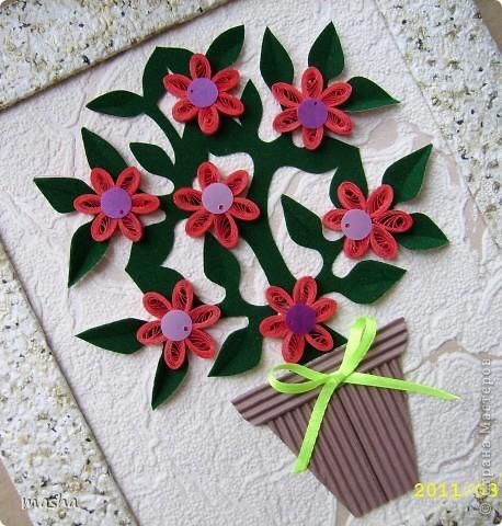 Простые цветочки для детского творчества  фото 2