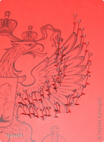 Мой первый МК о том, как выполнялась работа на городской конкурс на лучшее знание государственной символики. фото 11