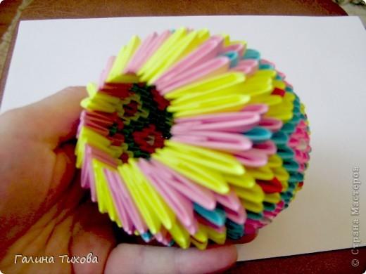 Мастер-класс Поделка изделие Оригами китайское модульное Пасхальное яйцо Мастер-класс Бумага фото 26