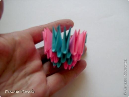 Мастер-класс Поделка изделие Оригами китайское модульное Пасхальное яйцо Мастер-класс Бумага фото 36