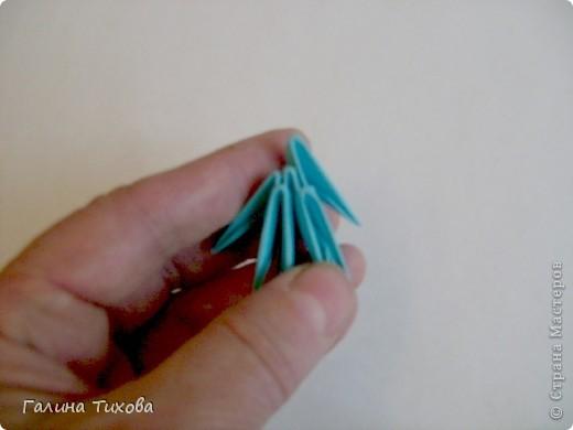 Мастер-класс Поделка изделие Оригами китайское модульное Пасхальное яйцо Мастер-класс Бумага фото 4