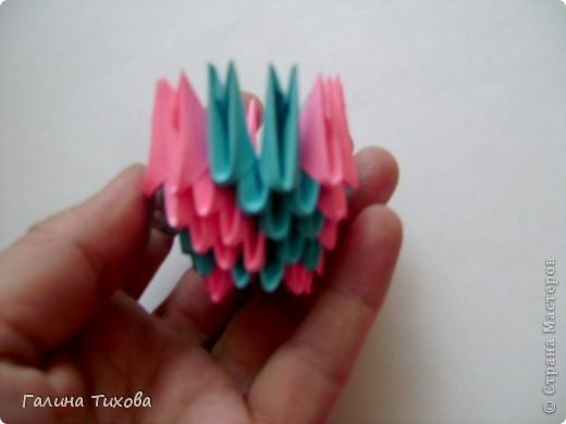 Мастер-класс Поделка изделие Оригами китайское модульное Пасхальное яйцо Мастер-класс Бумага фото 37